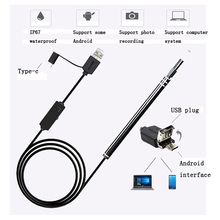 3-In-1 Visual Ear Canal Endoscope USB Cleaning Tool 5.5mm Spoon Camera Pen Care