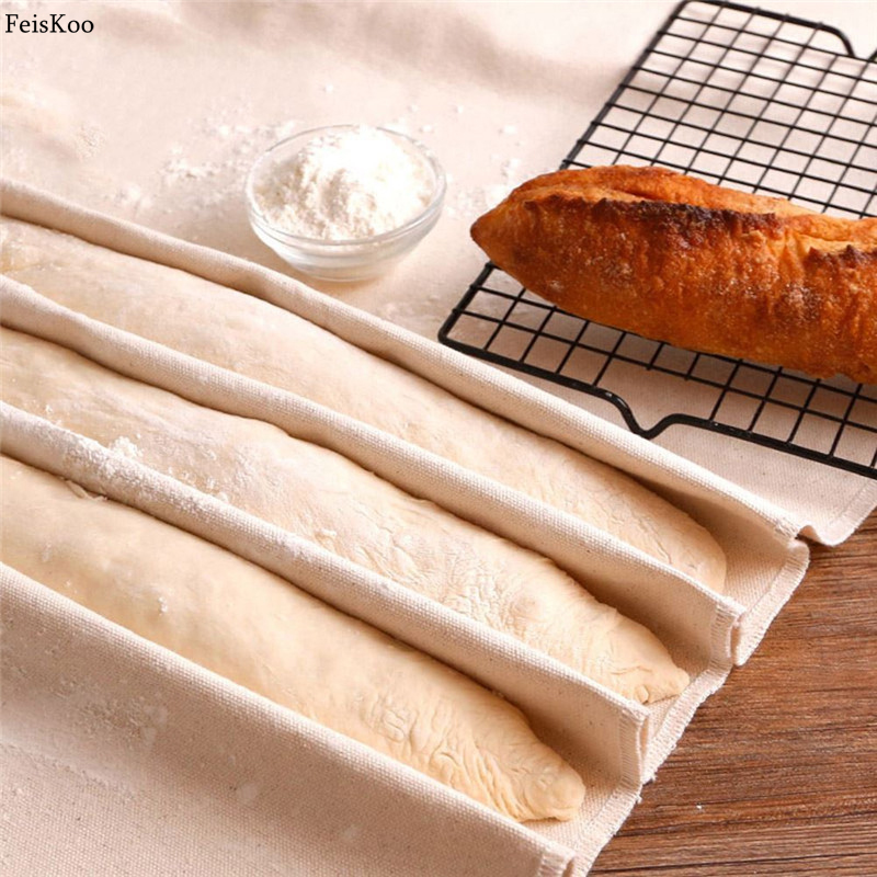 Reusable thick Fermented Linen Cloth Proofing Dough Bakers