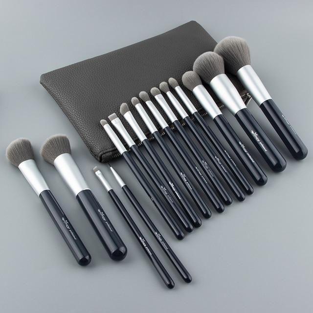 Anmor Neue Make-Up Pinsel Set 15 PCS Professional Make-Up Pinsel Synthetische Haar Foundation Powder Blush Lidschatten Pinsel Set