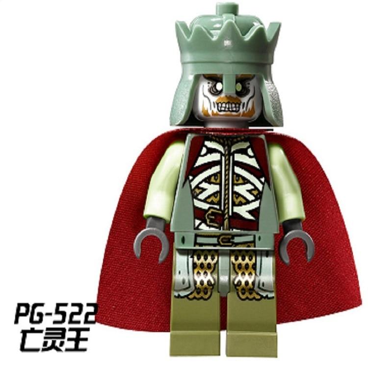 Single Sale Star Wars Lord of the Rings Mordor Orc Battle at The Black Gate King Uruk Building Blocks Children Gift Toys PG521
