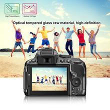 Carprie ультра-прозрачное противоударное защитное стекло 9 H закаленное Стекло Экран Защитная пленка для Nikon D5300/D5500/D5600 18Feb08 Прямая поставка
