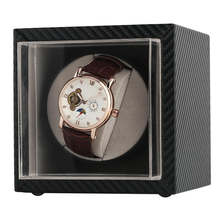 Автоматические часы mini silent watch winder из углеродного