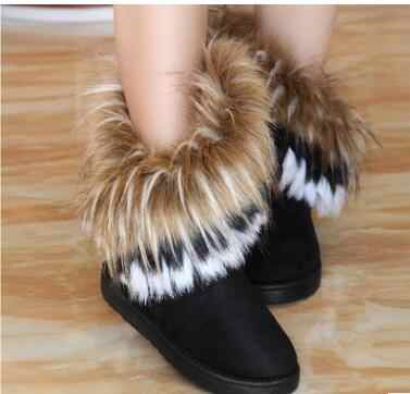 Child Casual Shoes New Autumn Winter Male Female Snow Boots Warm Manufacturer Wholesale black Boots Baby Sneakers