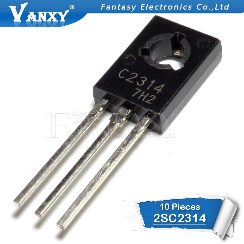10PCS 2SC2314 TO126 C2314 TO-126 Transistor