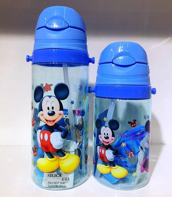 1 piezas 550 ml Disney princesa de dibujos animados de los niños estudiante botella de agua congelados Elsa nuevo a prueba de fugas tetera chica taza de chico de dibujos animados taza de agua