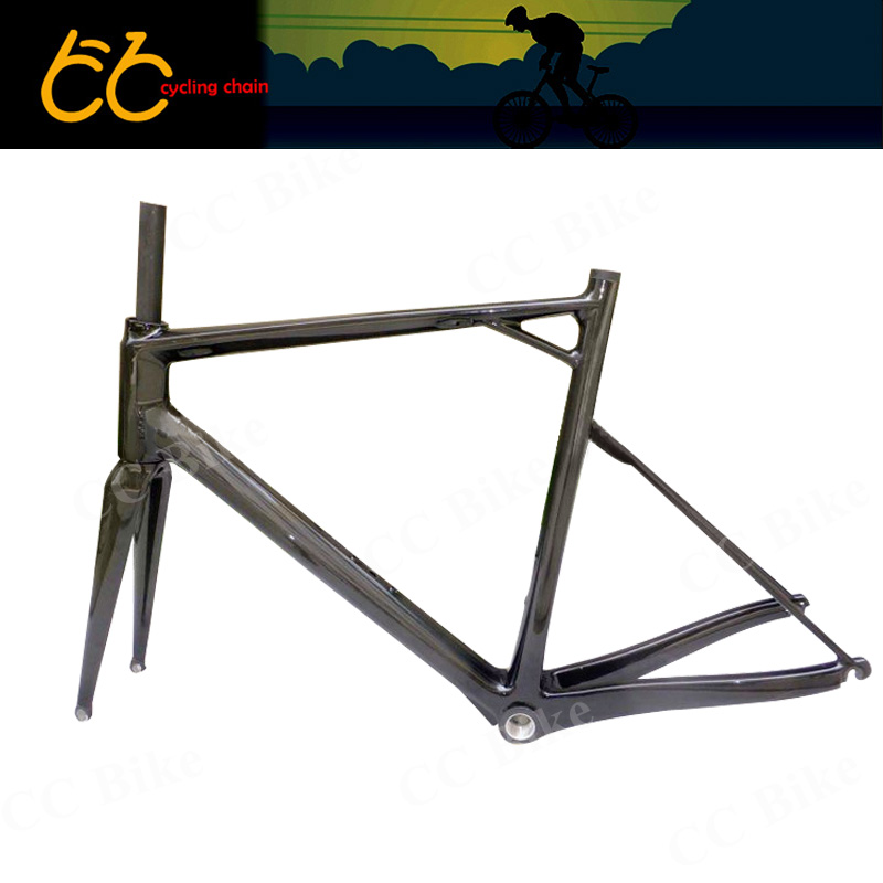 700c track bicycle carbon frame full carbon fiber road bike frame high mould carbon frame with