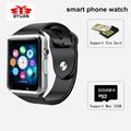 Носимых Устройств SmartWatch A1 Smart watch С Камерой Bluetooth Шагомер Сна Трекер Ответ На Вызов Для Android iOS ПК DZ09 GT08