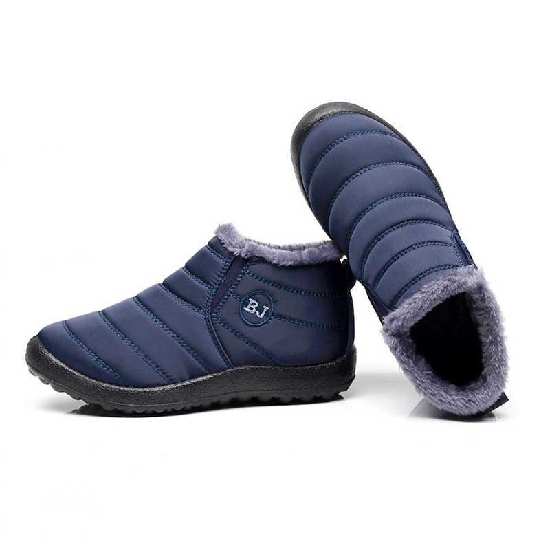 2019 Nuovi stivali delle donne di Inverno stivali da neve Stivali Invernali Donne scarpe Femminili Caldo Peluche Fondo Antiscivolo Termica Impermeabile Unisex