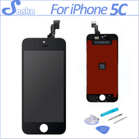 Grade AAA Replacement For IPhone 5C LCD Touch Screen Display Digitizer Front Glass Ecran Pantalla Assembly