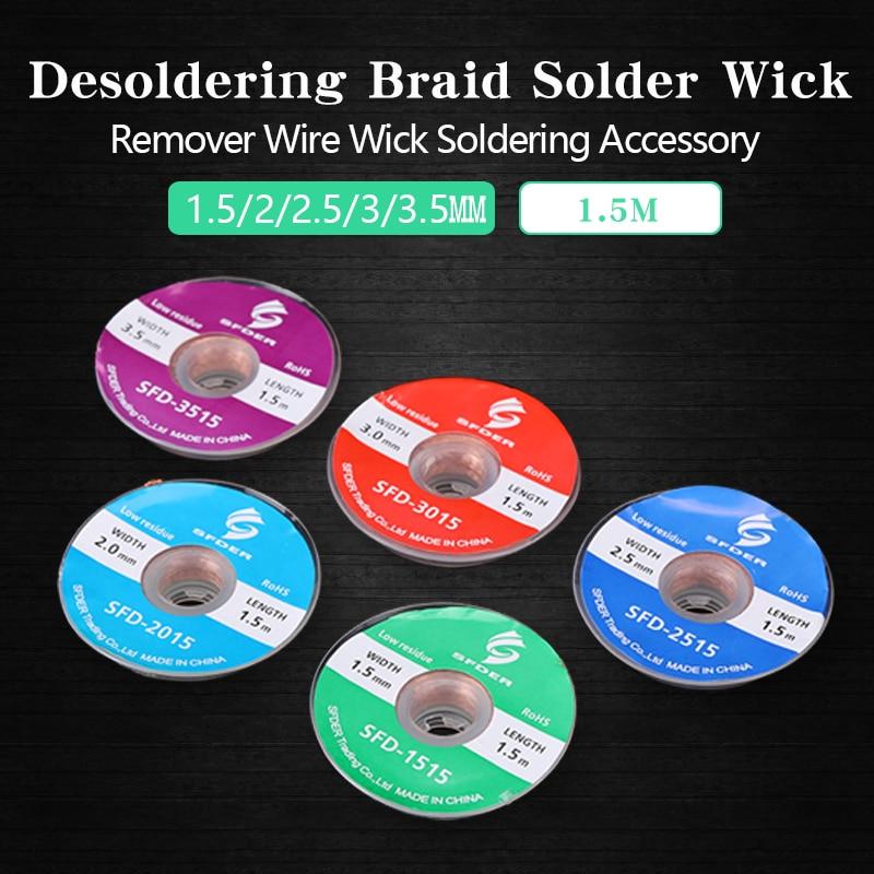 2X Goot Soldering Wick 5/' 2.5mm BGA reball PCB rework