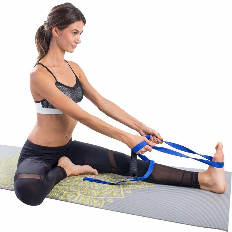 @1  Yoga Extender Stretch Belt Ремень Веревка 2-метровый воздушный гамак Swing Антигравитационный натяжн ★