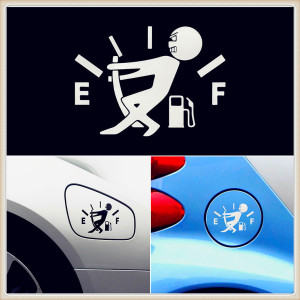 car oil Fuel Tank Vinyl Sticker Decal for Volkswagen vw 07 EOS 2.0 TF EOS 2.0 FS Touareg PTouareg Touran Tuhuan Touareg2