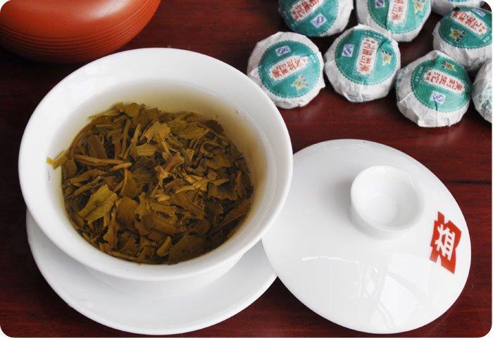 42pcs Jasmine Puerh tea, Raw Pu'er tuo cha ,A3PT29, Free Shipping free shipping 2015 yr new tea premium jasmine pearl tea jasmine longzhu flower tea green tea 250g bag vacuum packaging