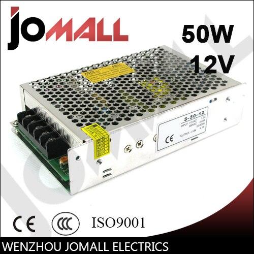 50 w 12 v 4.2a Single Output schalt netzteil