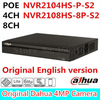 Dahua 6MP 4CH 8CH Poe NVR NVR2104HS P S2 NVR2108HS 8P S2 Up To 6Mp Recording