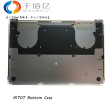 Wholesale New A1707 Bottom Case Lower Cover for Apple Macbook Pro 15″ Retina A1707 Bottom Case Silver and Grey Color