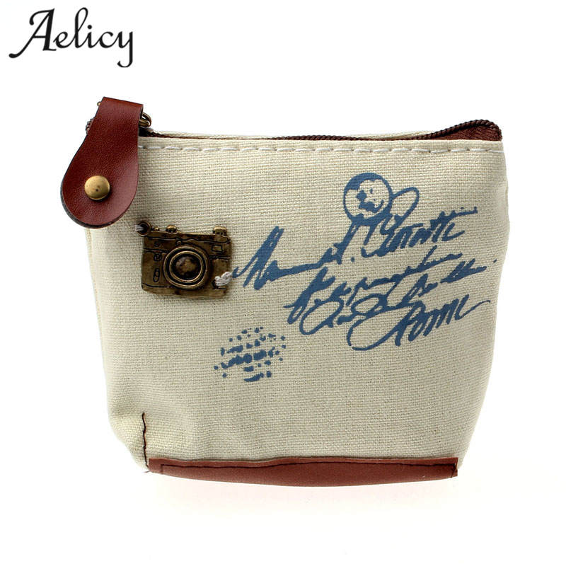 Aelicy High Quality Women Small Storage Bags for Key Card Phone Coin Purse Practical Canvas Daily Little Bags Travel AccessoriesAelicy High Quality Women Small Storage Bags for Key Card Phone Coin Purse Practical Canvas Daily Little Bags Travel Accessories