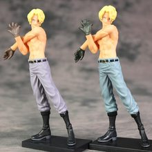 Panas 1 Pcs 17 Cm Jepang Tokoh Anime One Piece Telanjang Vol.3 Sabo Action Figure Collectible Model Mainan Brinquedos(China)
