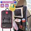 Titular organizador do assento de carro multi-bolso saco de armazenamento de viagem cabide tecido guarda-chuva de garrafas lanches móvel de volta para ipad 9 bolsos