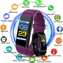 New LIGE Smart Bracelet Waterproof Sports Watch Pedometer Heart Rate Blood Pressure Monitoring Wristband for Android iOS