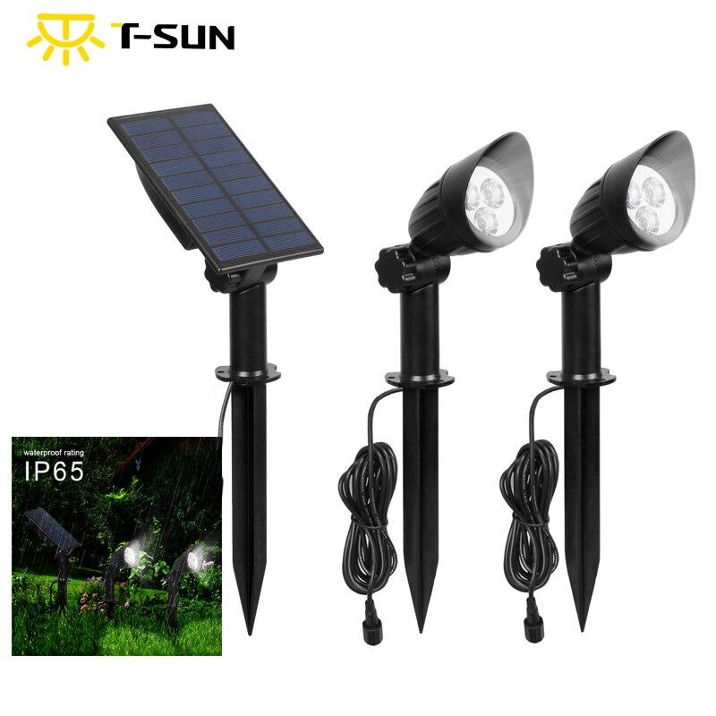 t sun ip65 ao ar livre a prova dip65 agua seguro split spotlight amplamente utilizado no