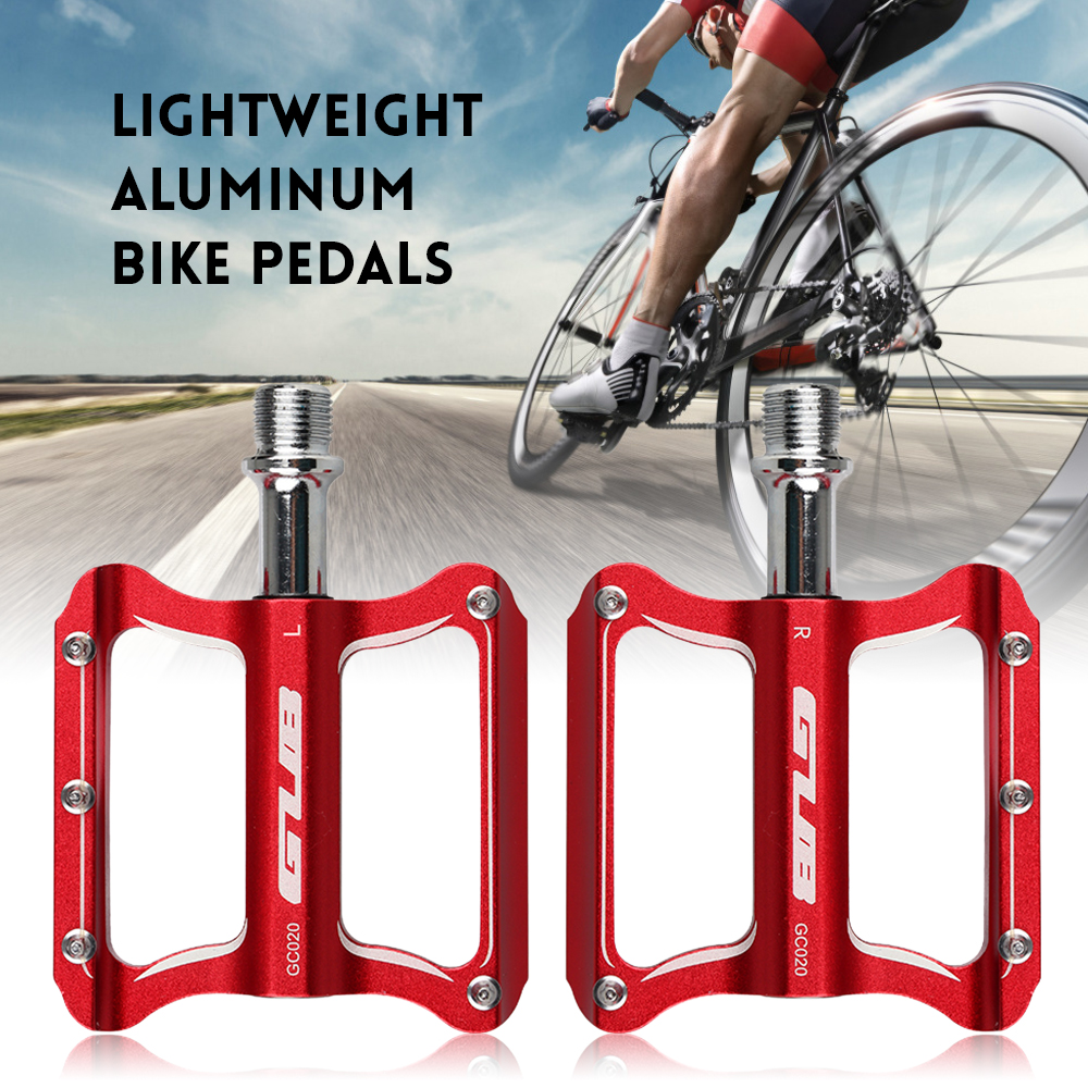 BMX Bike 9//16 In ABS Pedals Bicycle Flat Platform Pedal MTB Accessories