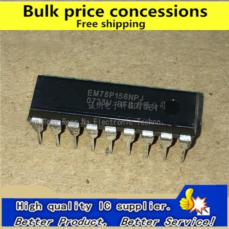 1pcs EM78P156ELP ORIGINAL 8-BIT MICRO-CONTROLLER DIP-18