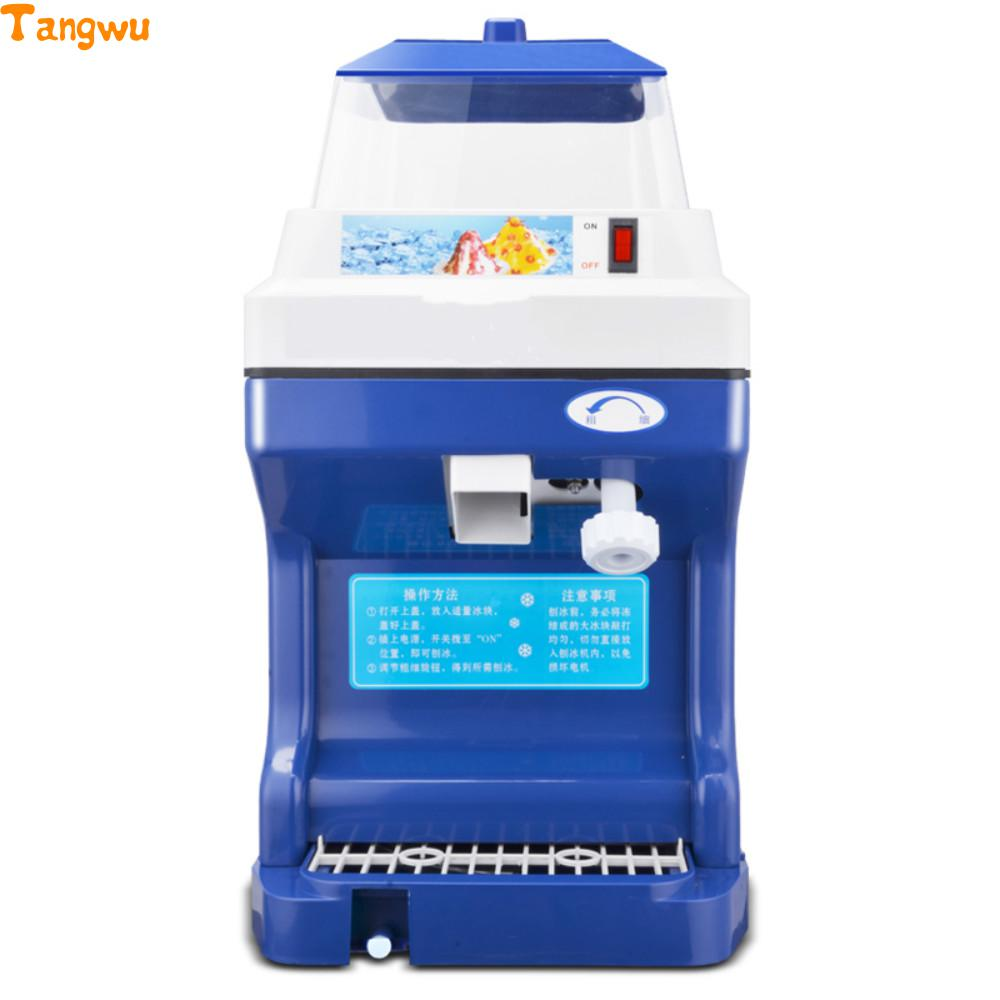 Free shipping  ice pressing high power snow sand ice machine  Crushed ice machine Ice Crushers
