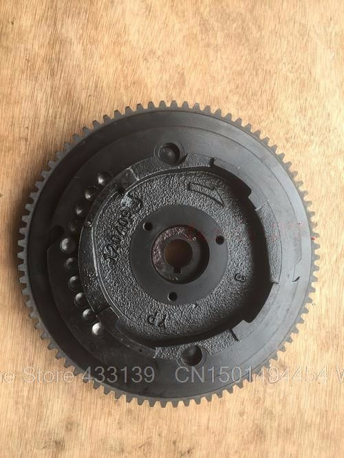 Free Shipping Parts For Yamaha Parsun Pioneer Hidea 4 Stroke 15hp Outboard Motor Elactric Starter Flywheels