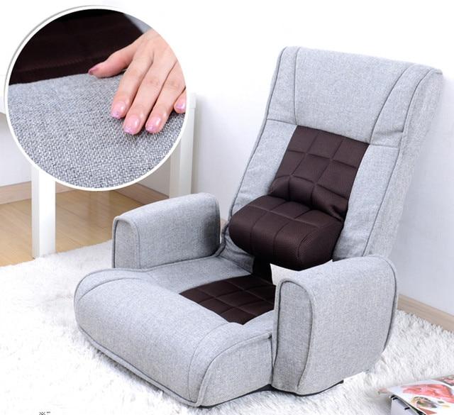 Удобный Стул Современный Раскладной Кресло Диван Ткань Мебель Гостиная Моды Подлокотник Складной Кресло Для Отдыха Дизайн
