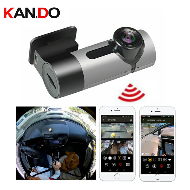 Mobile Vehicle DVR Camera Parking Monitor View 360 Degree Panoramiccar Camera Car DVR 360° For Taxi Drive Dash Camera VR