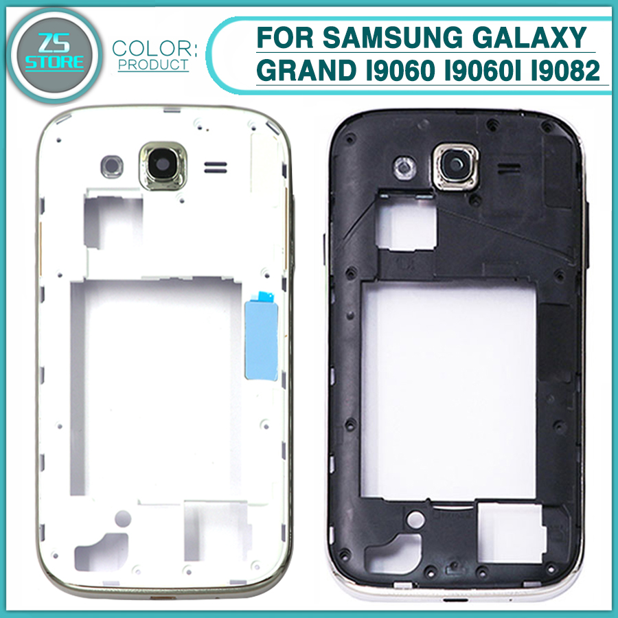 44857b5a1dc new I9060 Middle Frame For Samsung Galaxy Grand Duos Neo I9060 i9060i i9082  i9080 Mid Bezel Plate With Camera lens ~ Super Deal June 2019