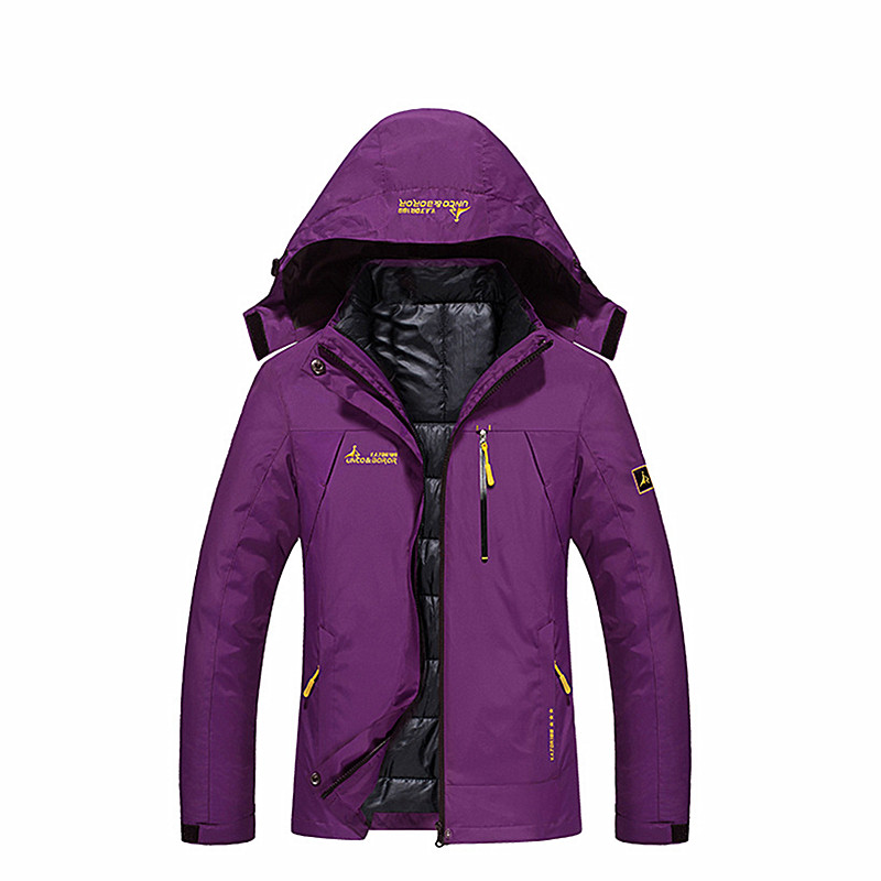Outdoor Winter woman warm down jacket n-3b down jacket hooded cloth White Duck Down Camping hiking Mountaineering clothes все цены