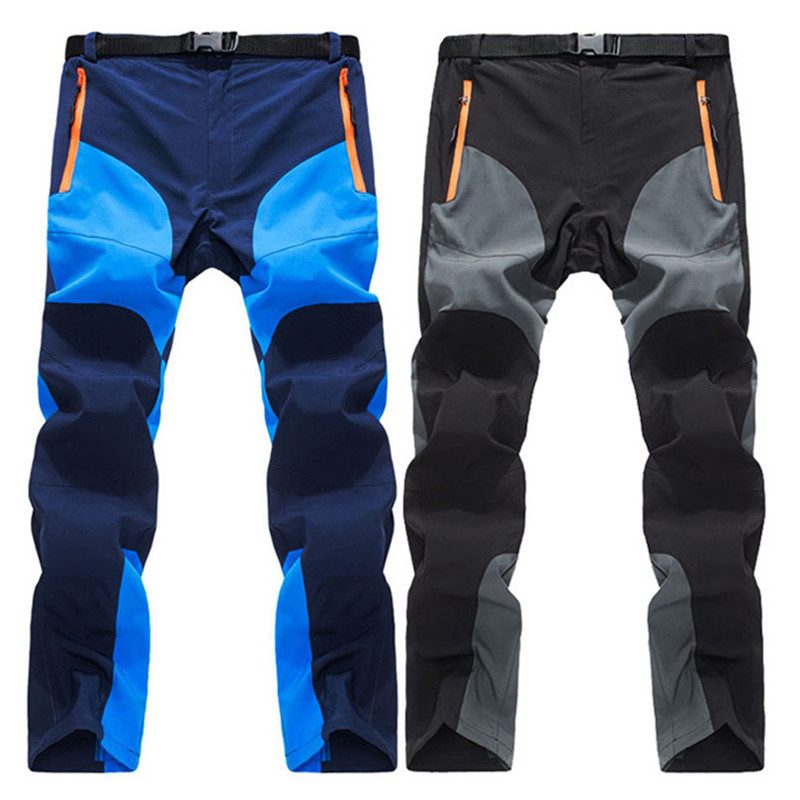 2019 Men's Summer Quick Dry Pants Outdoor Sports Breathable Hiking Camping Trekking Travel Fishing Climbing Trousers-in Hiking Pants from Sports & Entertainment