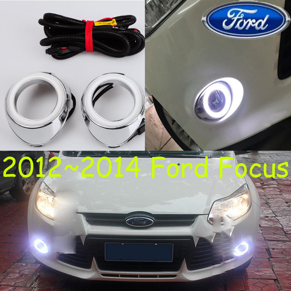 Focu fog light ,2012~2014;Free ship!Focu daytime light,2ps/set+wire ON/OFF:Halogen/HID XENON+Ballast,Edge Focu alto fog light 2014 2016 free ship alto daytime light 2ps set wire on off halogen hid xenon ballast alto