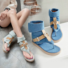 2019 Womens Sandals Summer Flat Sandals Bohemian Flip Flops Women Shoes Roman Casual Beach Sandals Slip-On Yasilaiya Gladiator crystal gladiator sandals summer flip flops casual shoes woman slip on flats rhinestone women shoes ch803