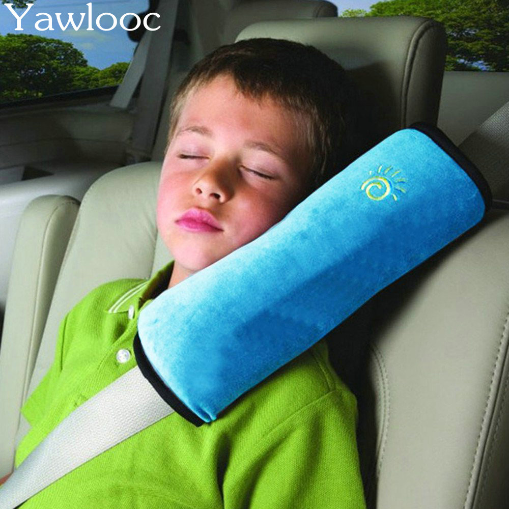 Yawlooc 1PC  Baby Auto Safety Belt Harness Shoulder Pad Cushion Children Protection Covers Cushion Support  Car styling hot sale baby car auto safety seat belt harness shoulder pad cover children protection car covers car cushion support car pillow