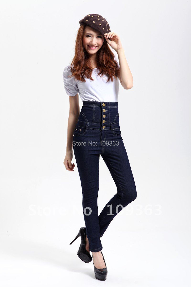 Online Buy Wholesale ladies' jeans trousers from China ladies& ...