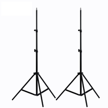 Photo 2*2M Light Stand Tripod With 1/4 Screw Head For Studio Video Flash Umbrellas Reflector Lighting