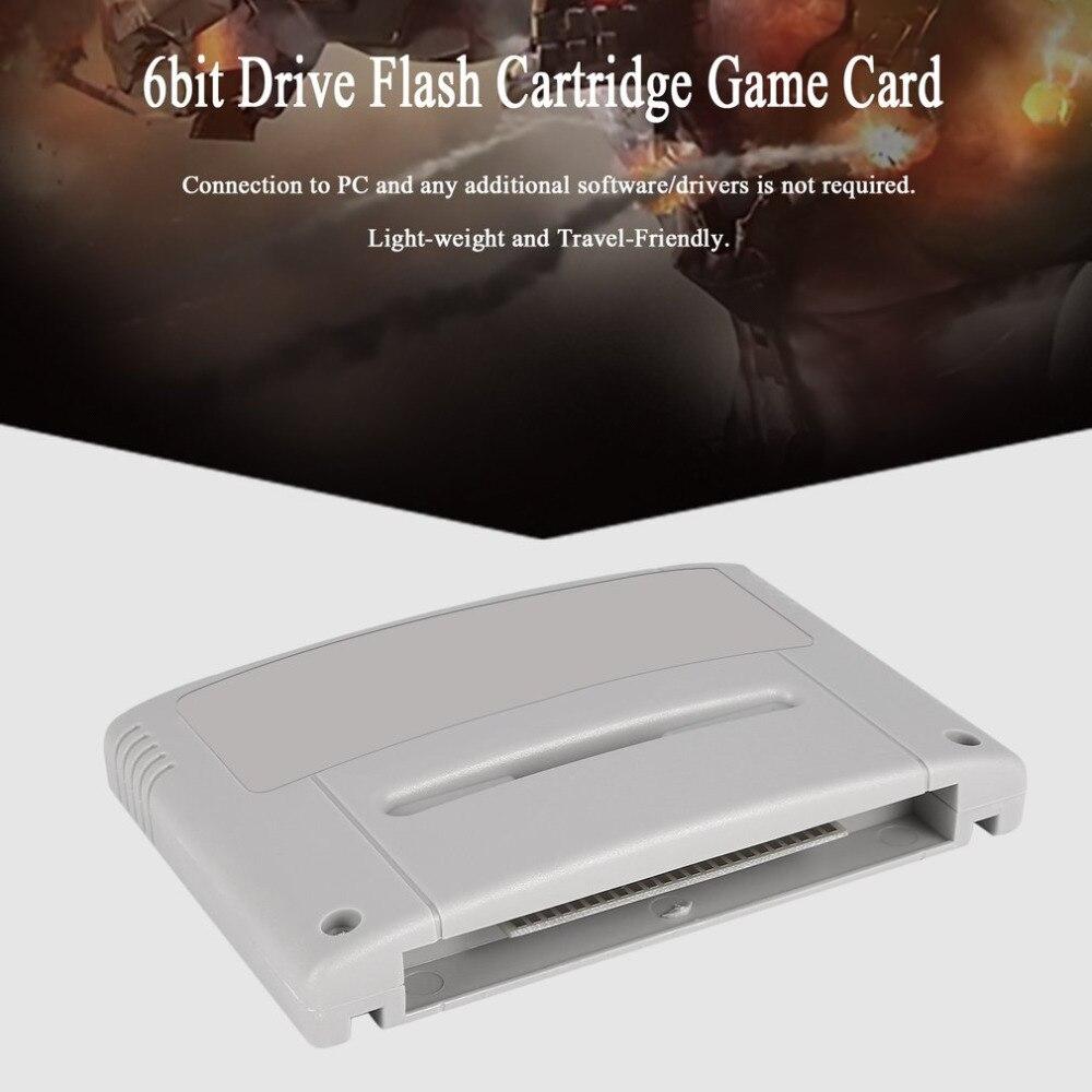 Onleny 16 peu Super Jamais Flash Jeu Lecteur Flash Cartouche Jeu Vidéo Console Jeu Flash Carte Plug & Play pour SNES Jeu Carte