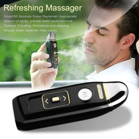 Multi functional Car Humidifier Diffuser Vibrating Massager Car Air Humidifier Purifier Freshener with USB Car Charger