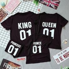 King Queen Family Look Tee Shirt