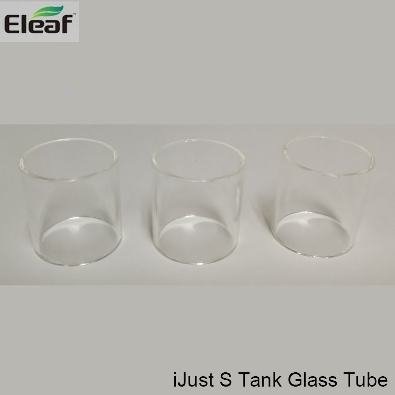 10pcs/lot Eleaf ijust S Tank Glass Tube Replacement Glass Tube for Eleaf iJust S Kit and ijust s Atomizer Pyrex Glass Tube