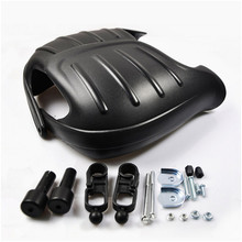 big size black red professional Modified accessories motorcycle hand guard shiled racing moto handguard scooter hand protection