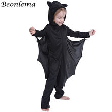 Beonlema Halloween Costume For Kids Bat Cosplay Jumpsuit Children Kawaii Halloween Party Disfraces Boys And Girls Play Clothes(China)