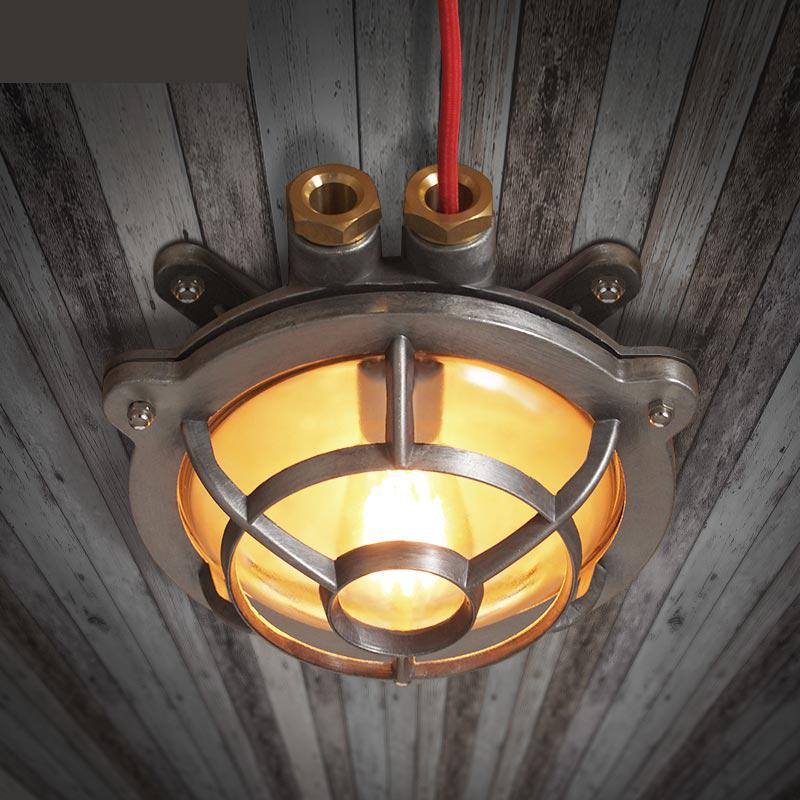 American Industrial Wind Retro Creative Restaurant Lights