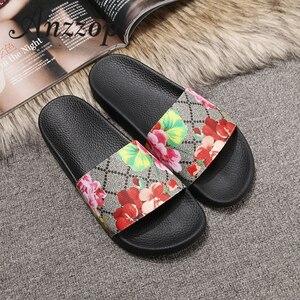 Women's Slippers Luxury Leathe