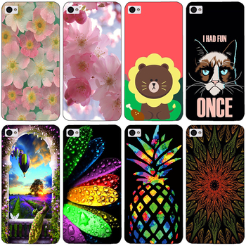 lenovo s90 Case,Silicon Cool guitar Painting Bear Dog Flower Soft TPU Back Cover for lenovo s90 s90t Protect Phone cases shell image