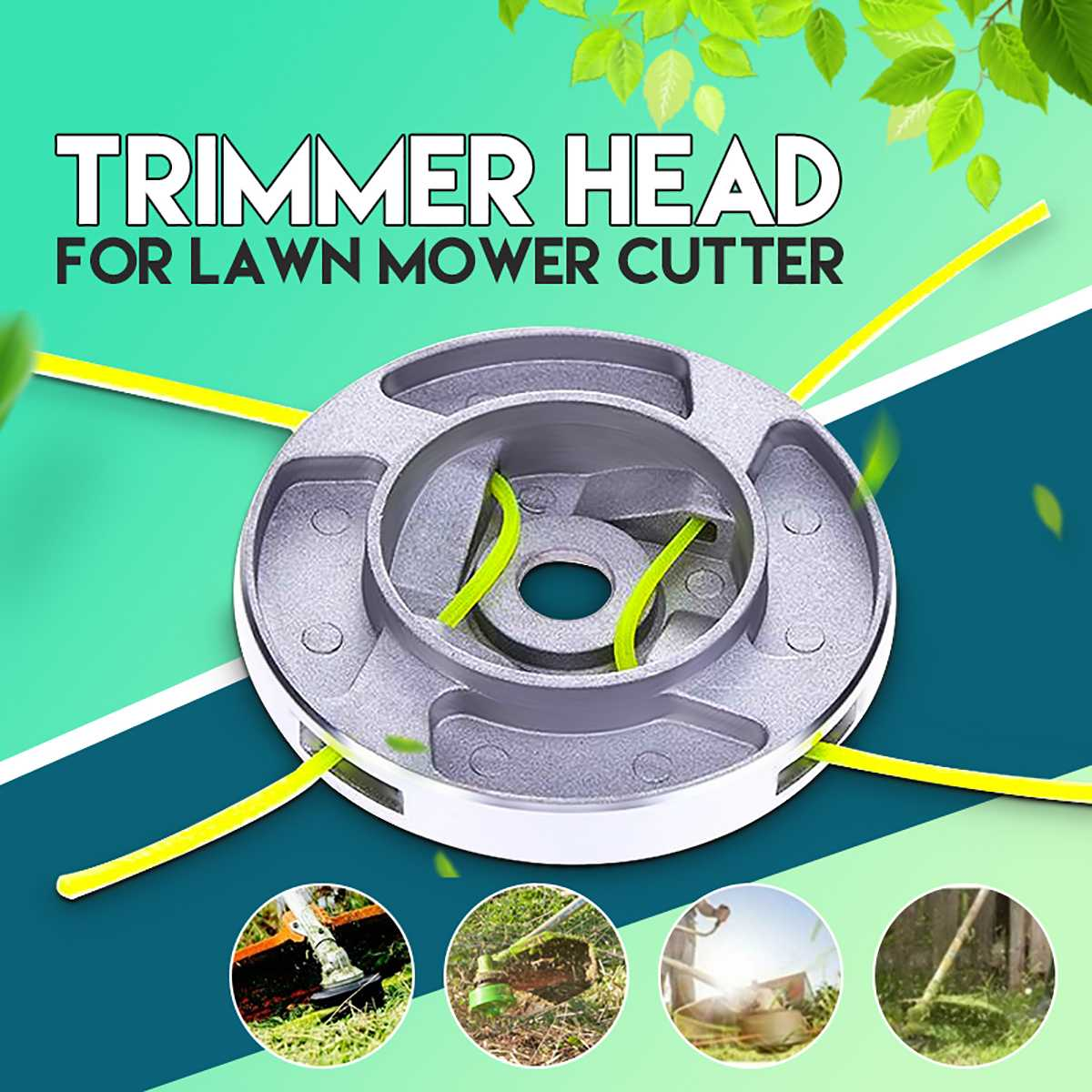 Universal Line Trimmer Head Weed Whipper Snipper Brush Cutter Brushcutter Parts