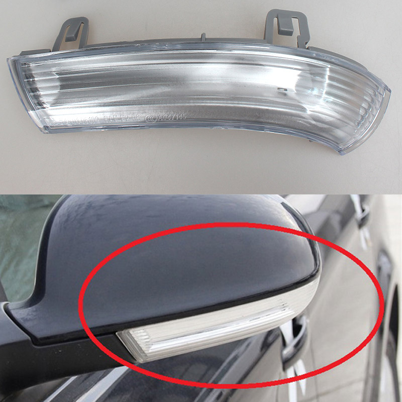 For Volkswagen VW Passat B5 Variant 3 B6 2000-2005 Led Car Styling Side Mirror With Indicator Turn Signal Lights 1KD 949 101/102 for volkswagen vw passat b6 3c2 2005 2010 led car styling side mirror with indicator turn signals lights 1k0 949 101 102